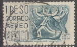 Stamps : America : Mexico :  MEXICO_SCOTT C220G.02 PUEBLA, DANZA DE LA MEDIA LUNA. $0.3