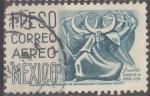 Stamps : America : Mexico :  MEXICO_SCOTT C220G.03 PUEBLA, DANZA DE LA MEDIA LUNA. $0.30