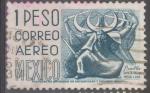 Sellos de America - México -  MEXICO_SCOTT C220G.04 PUEBLA, DANZA DE LA MEDIA LUNA. $0.30