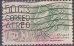 Stamps : America : Mexico :  MEXICO_SCOTT C220E.02 CHIAPAS, PERFIL EN BAJORRELIEVE. $0.20