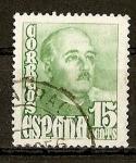 Sellos de Europa - España -  General Franco.