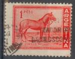 Stamps : America : Argentina :  ARGENTINA_SCOTT 689 CABALLO CRIOLLO. $0,20