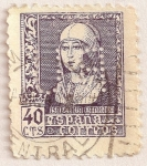 Stamps of the world : Spain :  Isabel la Católica