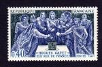 sellos de Europa - Francia -  HUGUES CAPET ELU ROI DE FRANCE