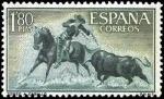 Sellos de Europa - España -  Fiesta Nacional: Tauromaquia