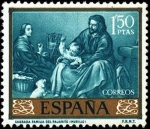 Stamps Spain -  Bartolomé Esteban Murillo