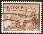 Sellos del Mundo : Europa : Noruega : PETER WESSEL TORDENSKIOLD