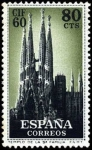 Stamps Spain -  I Congreso Internacional de Filatelia