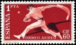 Stamps Spain -  I Congreso Internacional de Filatelia