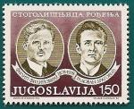 Stamps Yugoslavia -  Centenario nacimiento de Yugoslavia -  personajes