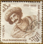 Sellos de Asia - India -  RAJA RAMMOHUN ROY
