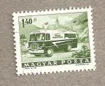Stamps Hungary -  Furgoneta