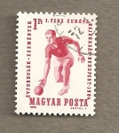 Stamps of the world : Hungary :  Campeonato europeo de bolos
