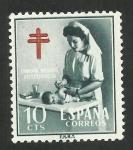 Stamps : Europe : Spain :  Campaña Nacional Antituberculosa