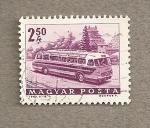 Stamps Hungary -  Autobús transurbano