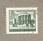 Stamps Hungary -  Centro óptico