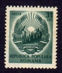 Stamps Europe - Romania -  REPUBLICA POPULARA ROMANA