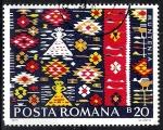 Sellos de Europa - Rumania -  Tapices y alfombras. Muntenia,
