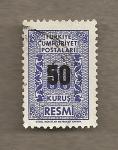 Stamps Turkey -  Filigrana