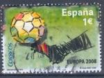 Stamps Spain -  ESPAÑA 2008_SH4429.04 Selección española de fútbol. Campeona de Europa 2008