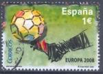Sellos de Europa - España -  CAMB.ESPAÑA 2008_SH4429.06 Selección española de fútbol. Campeona de Europa 2008