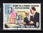 Sellos de Europa - España -  E2576 Aniv.Exposición Filatélica (317)