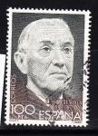 Sellos de Europa - España -  E2578 Cent. Ramón Perez de Ayala - 319