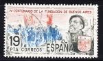 Sellos de Europa - España -  E2584 Cent.Fundación Buenos Aires (320)