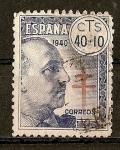 Stamps Spain -  Pro Tuberculosos.