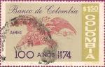 Stamps Colombia -  Centenario del Banco de Colombia