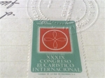 Stamps of the world : Colombia :  XXXIX CONGRESO EUCARISTICO INTERNACIONAL