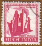Stamps of the world : India :  Planificacion familiar