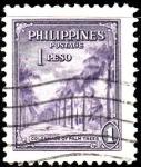 Sellos del Mundo : Asia : Filipinas : Columnade of Palm Trees