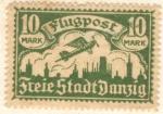 Sellos del Mundo : Europa : Alemania : Freie Stadt Danzig 1922
