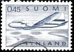 Sellos de Europa - Finlandia -  Avión