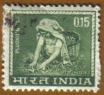 Sellos de Asia - India -  Recogedora de Té