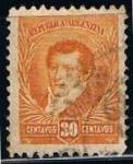 Stamps Argentina -  Scott  115  Belgrano