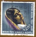 Sellos de Asia - India -  KAMALA NEHRU