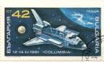 Sellos de Europa - Bulgaria -  Columbia 1981 abril