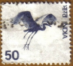 Stamps India -  Flying crane