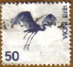 Sellos del Mundo : Asia : India : Flying crane