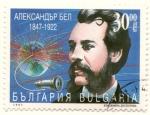 Sellos del Mundo : Europa : Bulgaria : Alexander Graham Bell