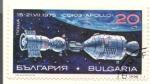Sellos del Mundo : Europa : Bulgaria : Mision Soyouz-Apolo 1975