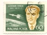 Sellos del Mundo : Europa : Hungría : GERMAN TYITOV