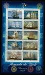 Stamps France -  Barcos - La Armada del Siglo -  Rouen 1999