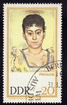 Stamps Germany -  F. Hodler  Galeria Dresden
