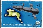 Sellos de Asia - Mongolia -  SOYUZ-5