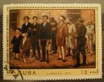 Stamps America - Cuba -  centenario del fusilamiento de los estudiantes de medicina
