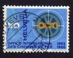Sellos del Mundo : Europa : Suiza : OFFICE INTERNATIONAL DES CHAMINS DE FER 1893-1968