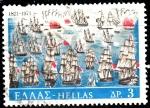 Sellos de Europa - Grecia -  Barcos